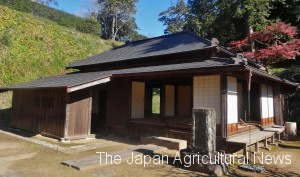 A residence of Yugaku near the Ohara Yugaku Museum (in Asahi City, Chiba Prefecture)