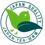 A new logo for Japanese tea products overseas.
