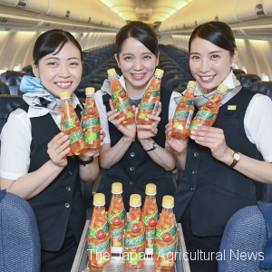 Japan's Air do offers Yubari melon soda for free. Some 40 percent of passengers select the drink, the regional carrier said.